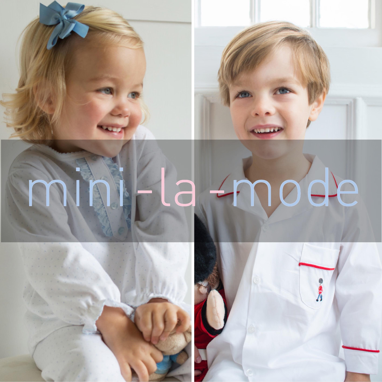 mini-la-mode website homepage